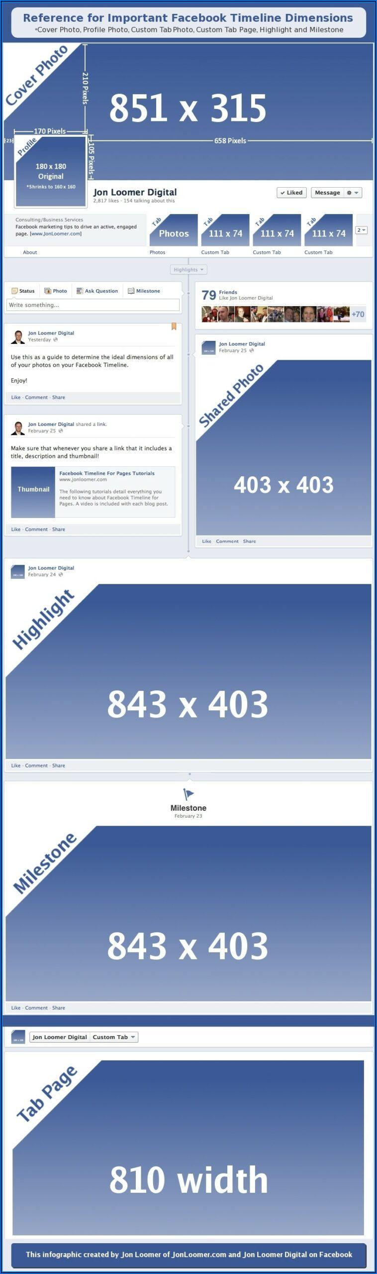 Facebook Page Timeline Photo Size