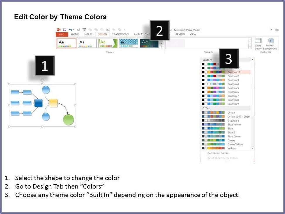 Flow Diagram Template Powerpoint