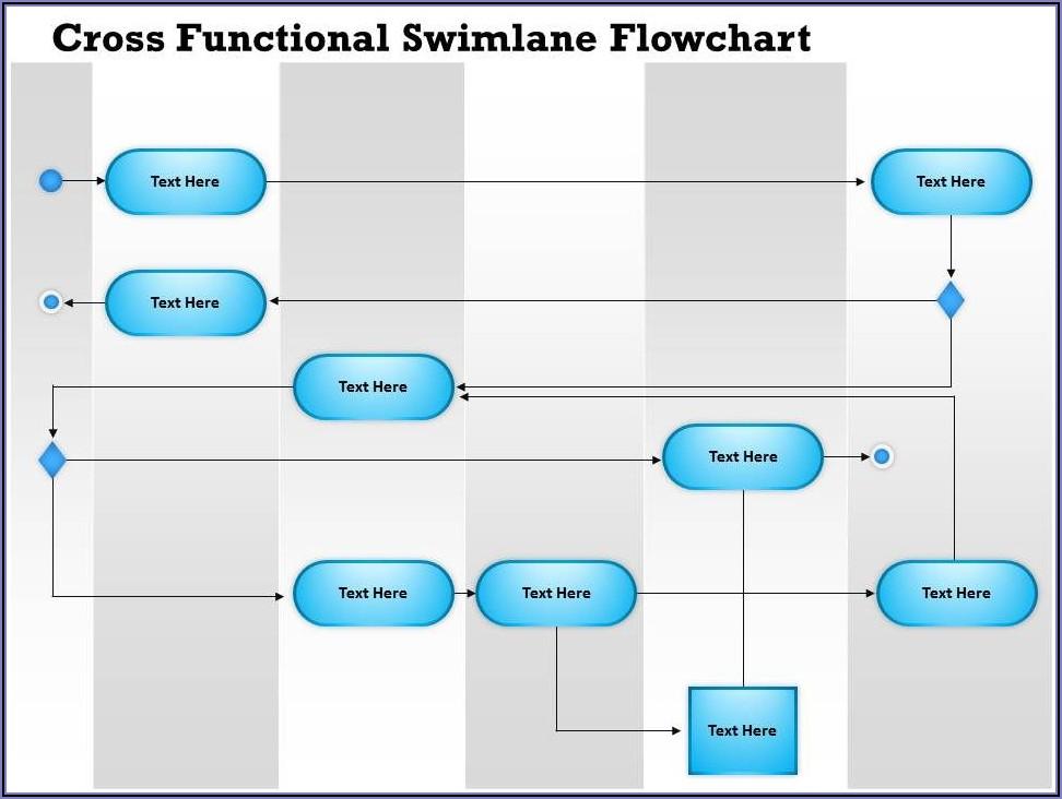 Flowchart Diagram Powerpoint Template