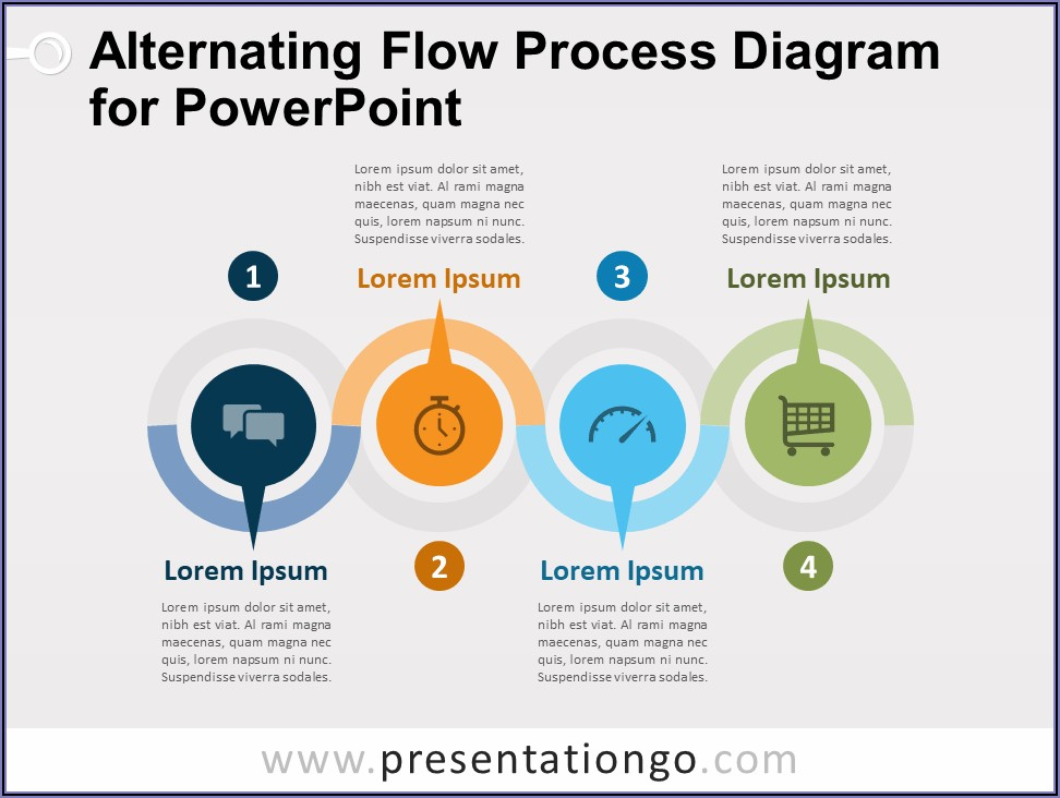 Free Data Flow Diagram Template Ppt
