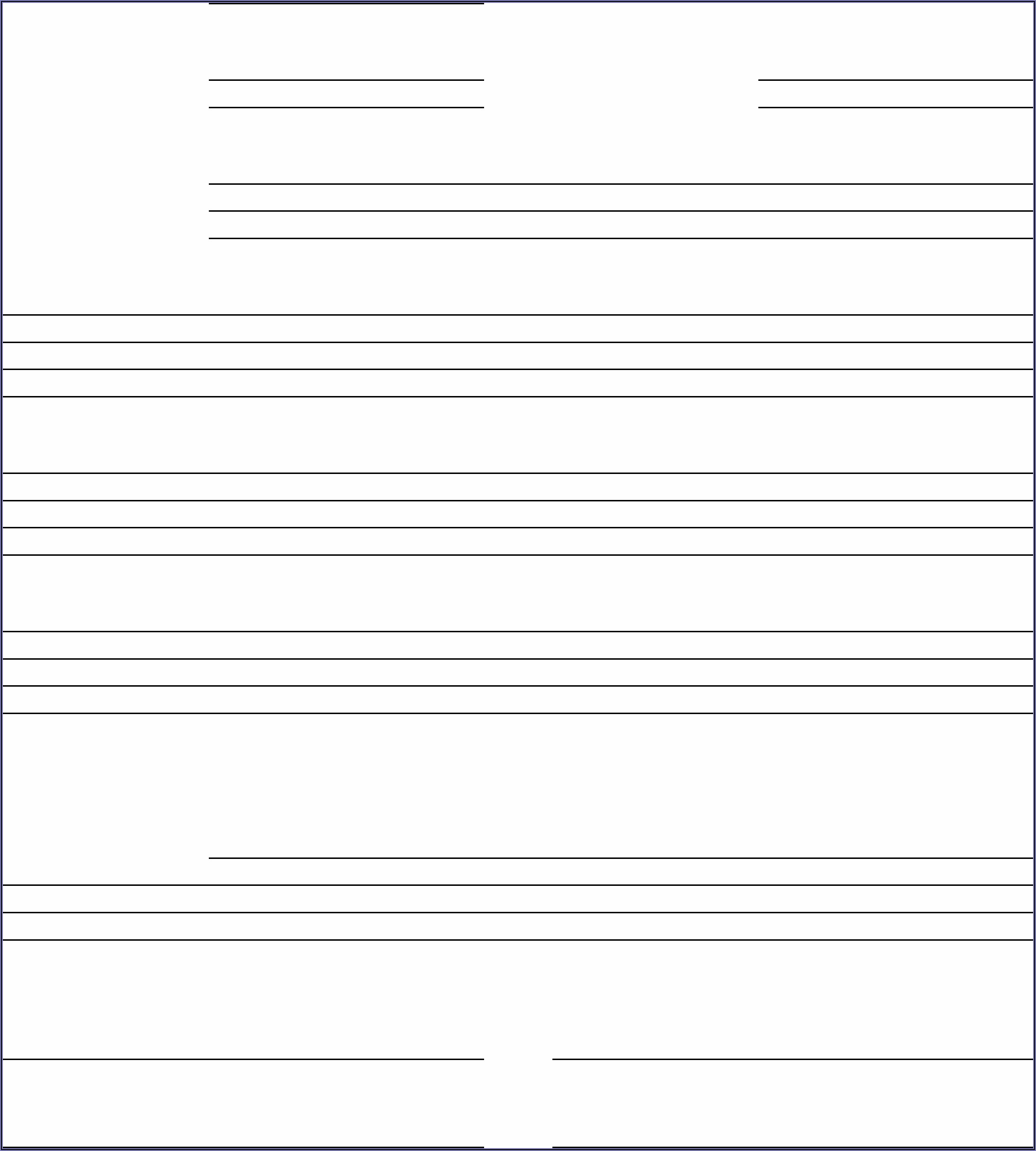 Free Employee Incident Report Template