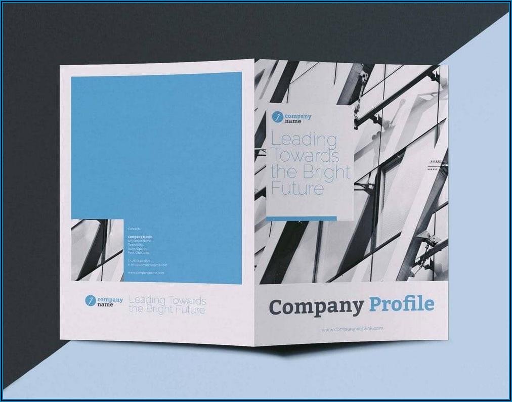 Free Printable Blank Brochure Templates