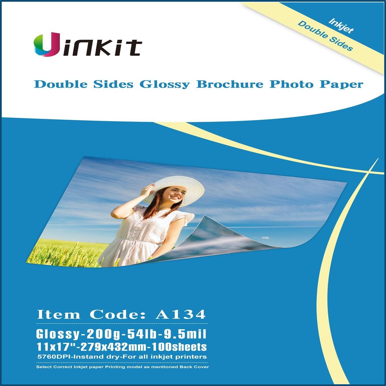 Glossy Brochure Paper 11 X 17