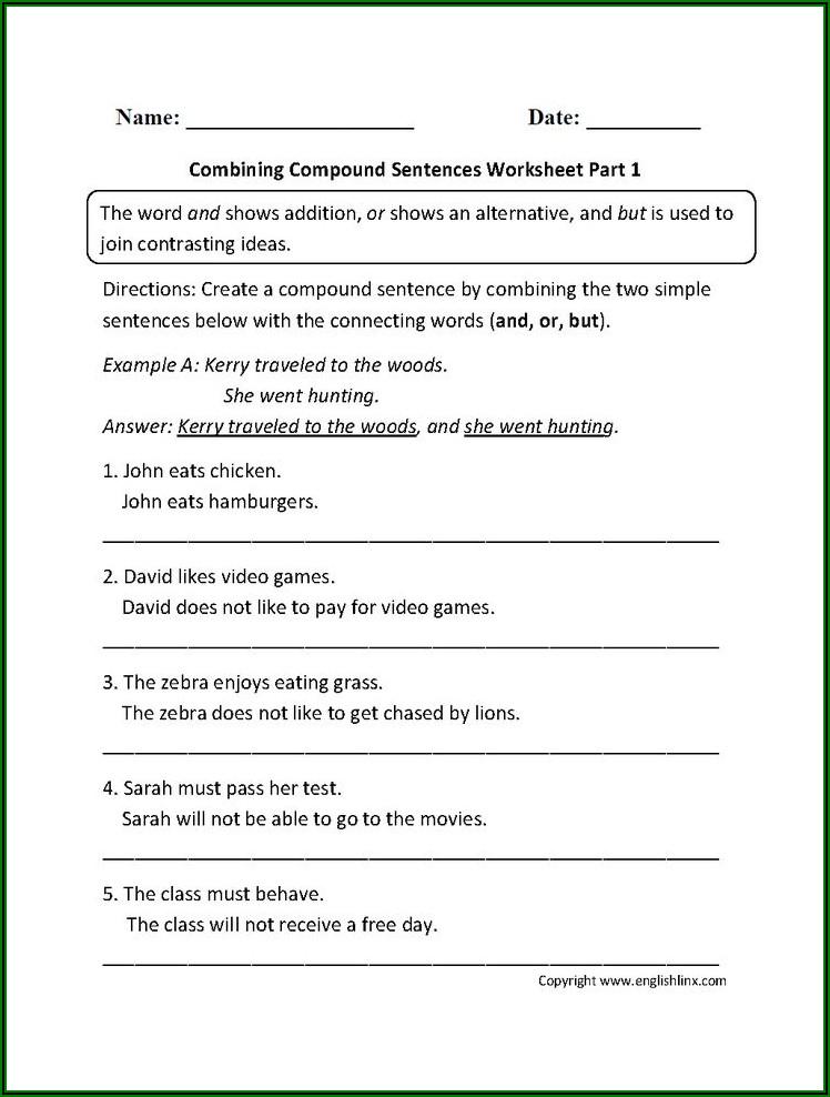 Grade 5 English Exercises Pdf