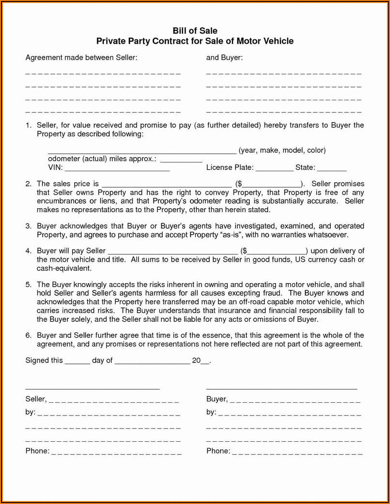 Grazing Lease Agreement Texas