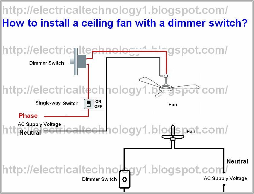 Harbor Breeze 3 Speed Ceiling Fan Switch Wiring Diagram