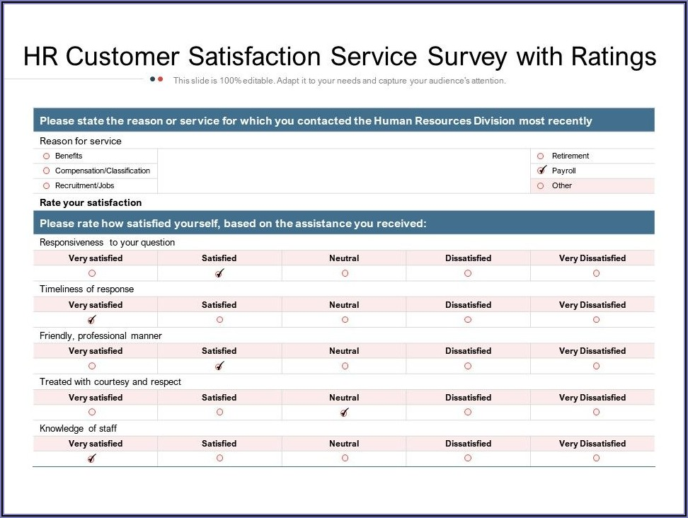 Hiring Manager Satisfaction Survey Template
