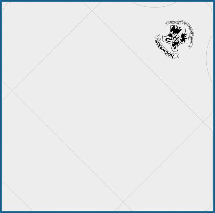 Hogwarts Letter Envelope Template
