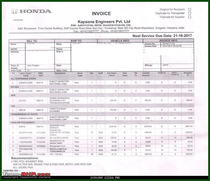 Honda Civic Si Invoice Price