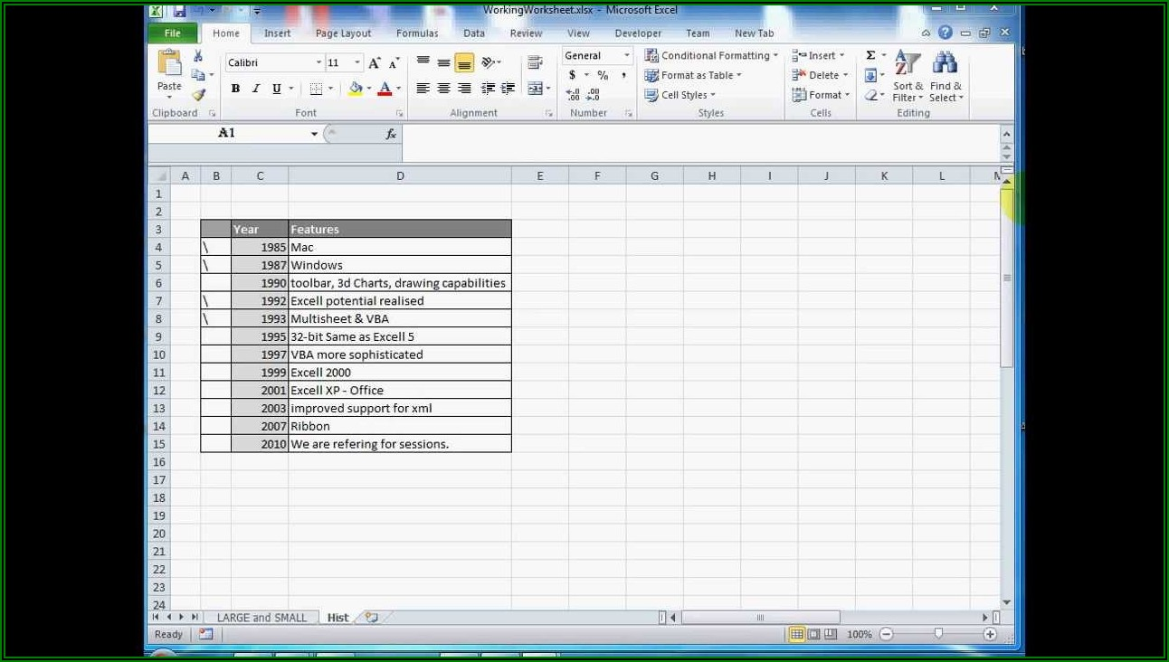 How To Shrink Excel Sheet