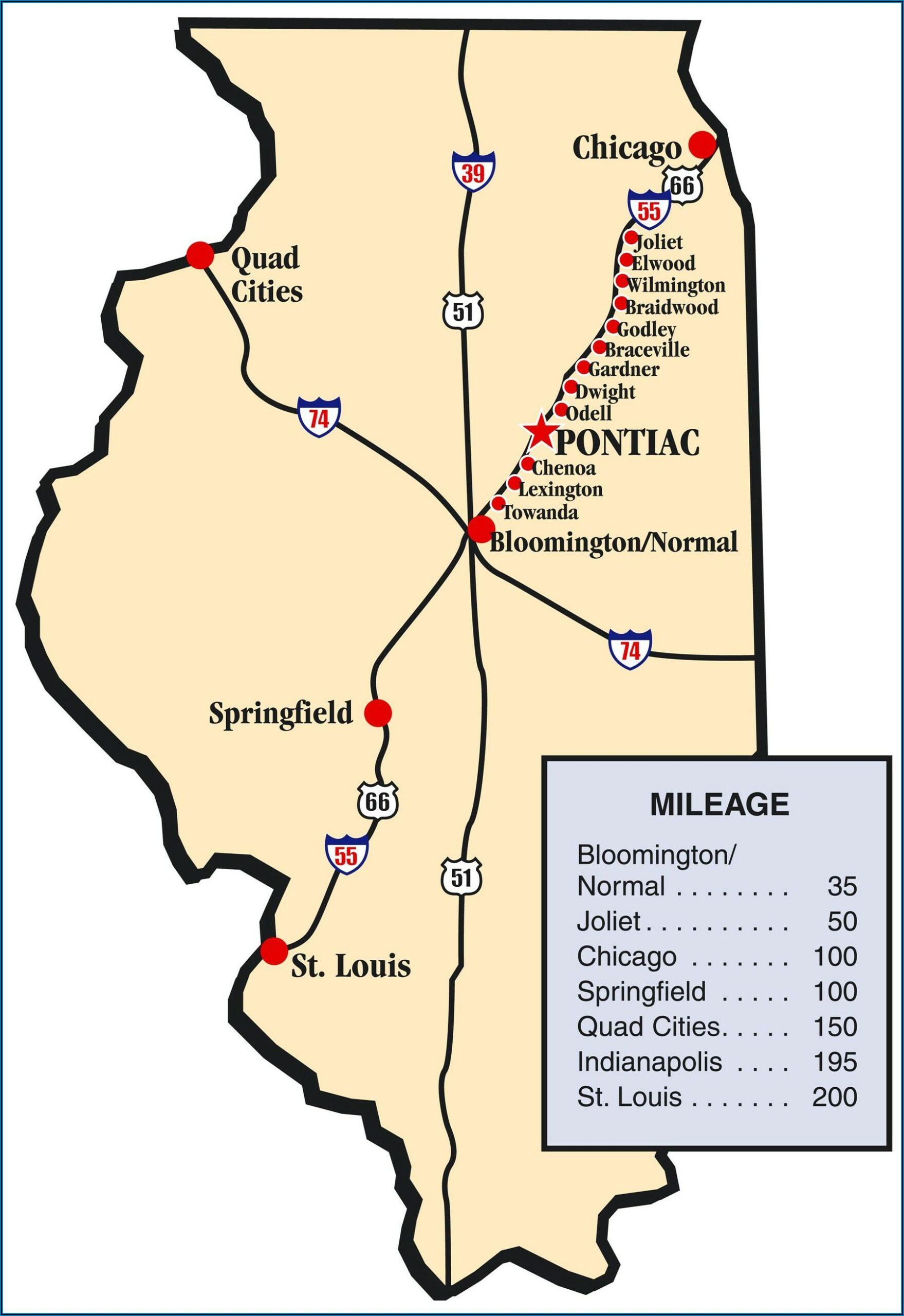 Illinois Route 66 Brochure