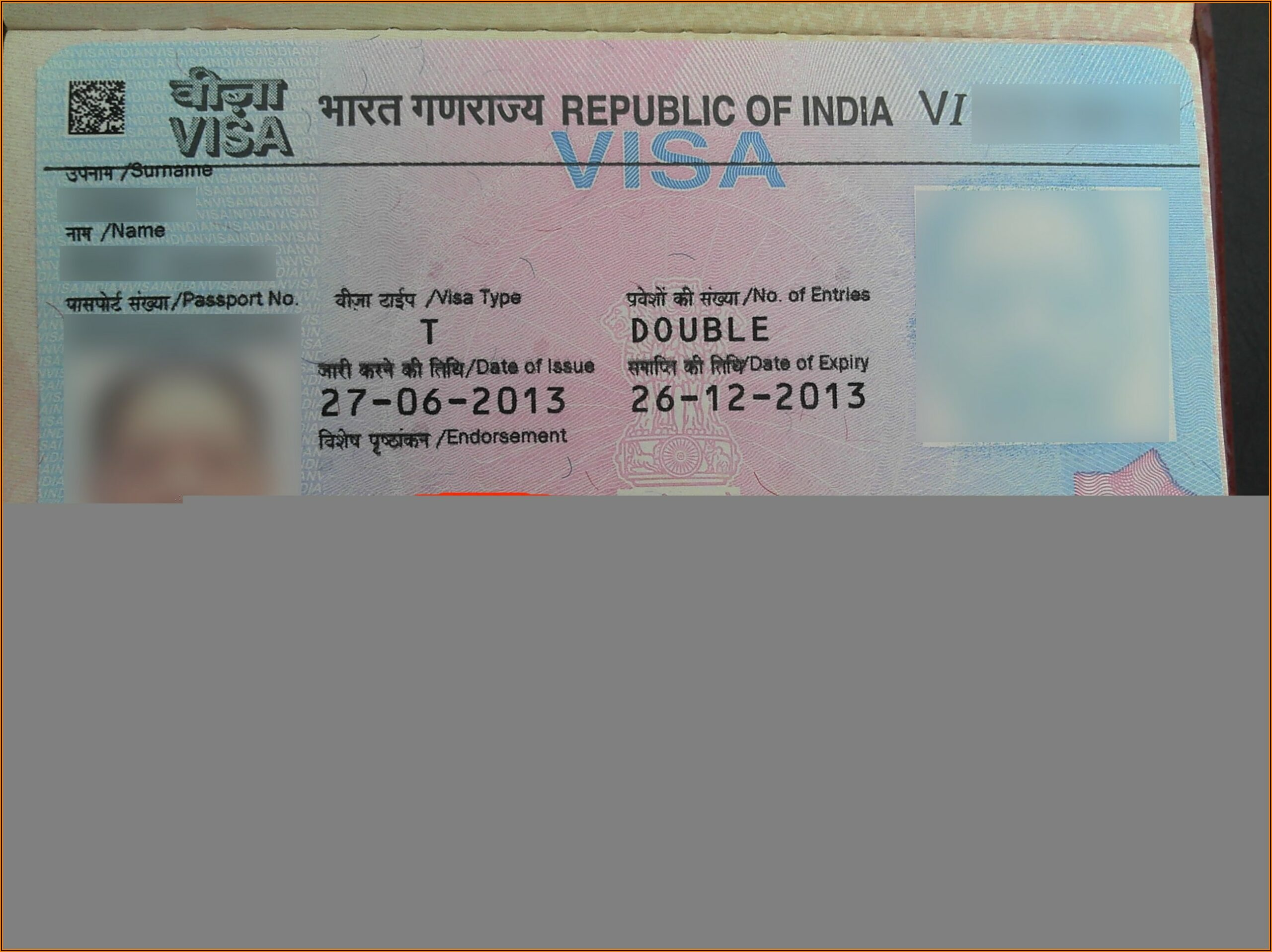 Indian Visa Fees For Malaysians