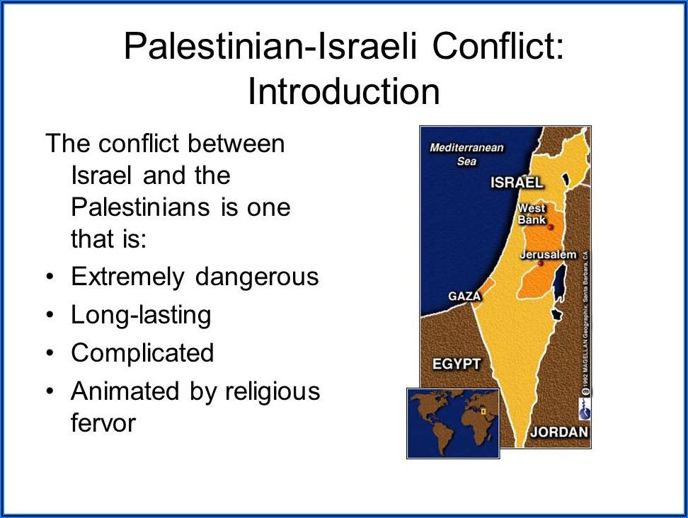 Israel Palestine Conflict Timeline Bbc
