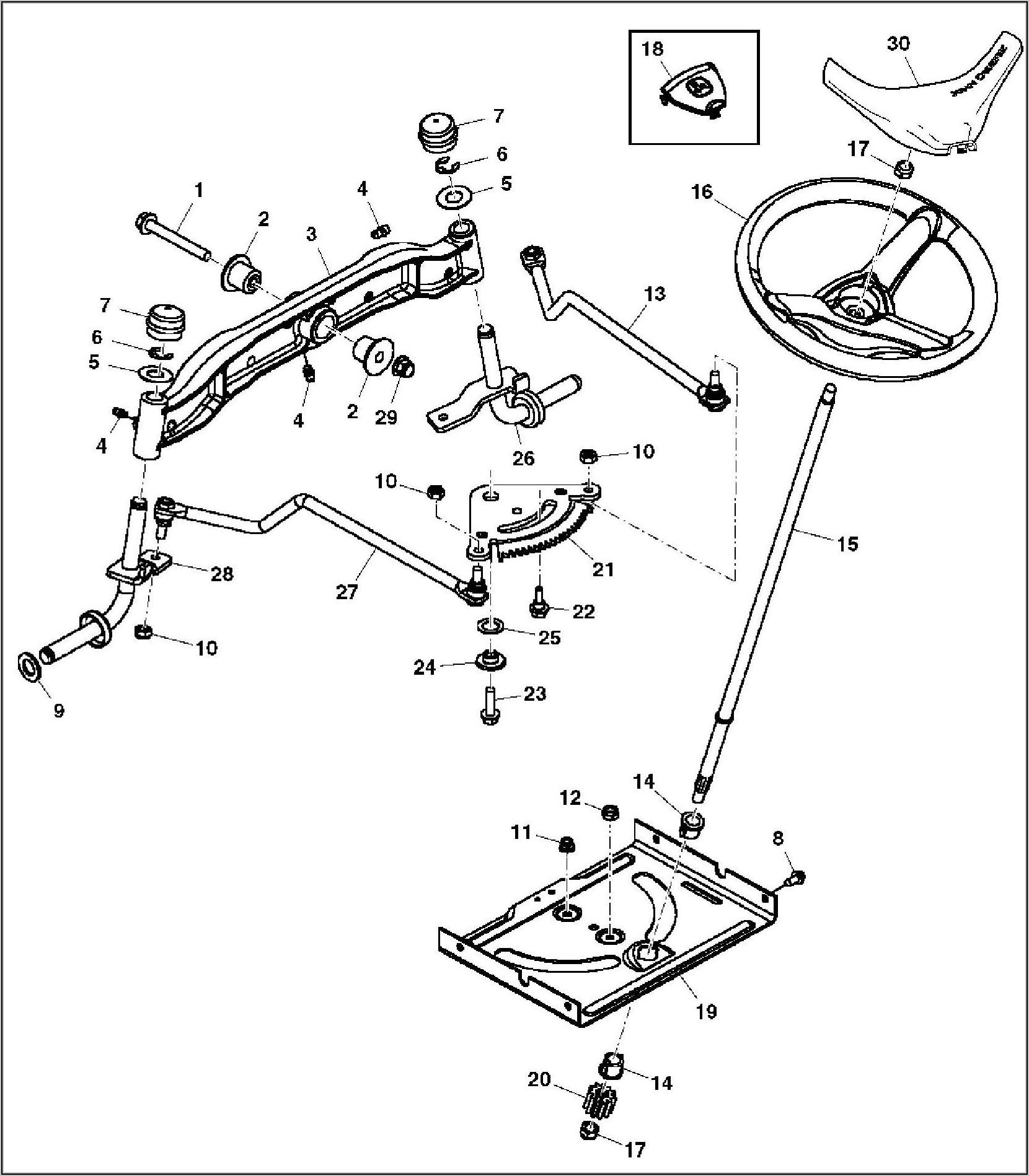 John Deere L120 Drive Belt Diagram