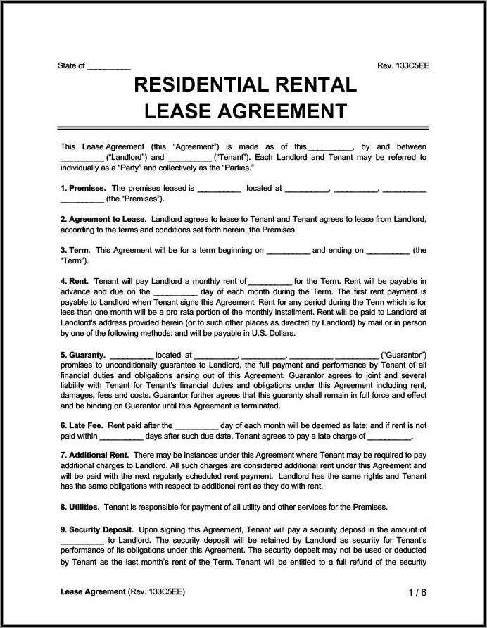Landlord And Tenant Agreement Letter Sample Doc