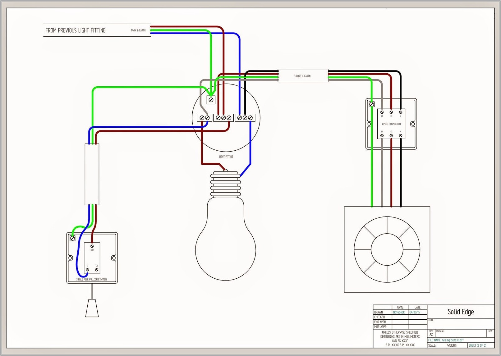 Light Wiring Diagram Double Switch