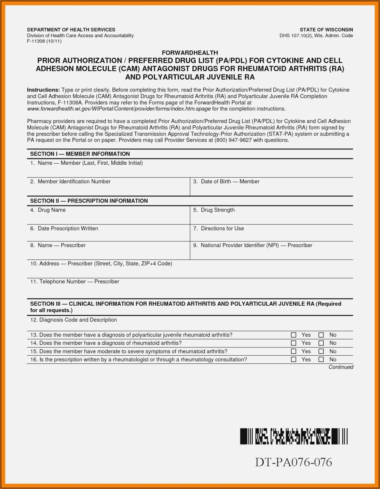 Medicare Forms For Providers