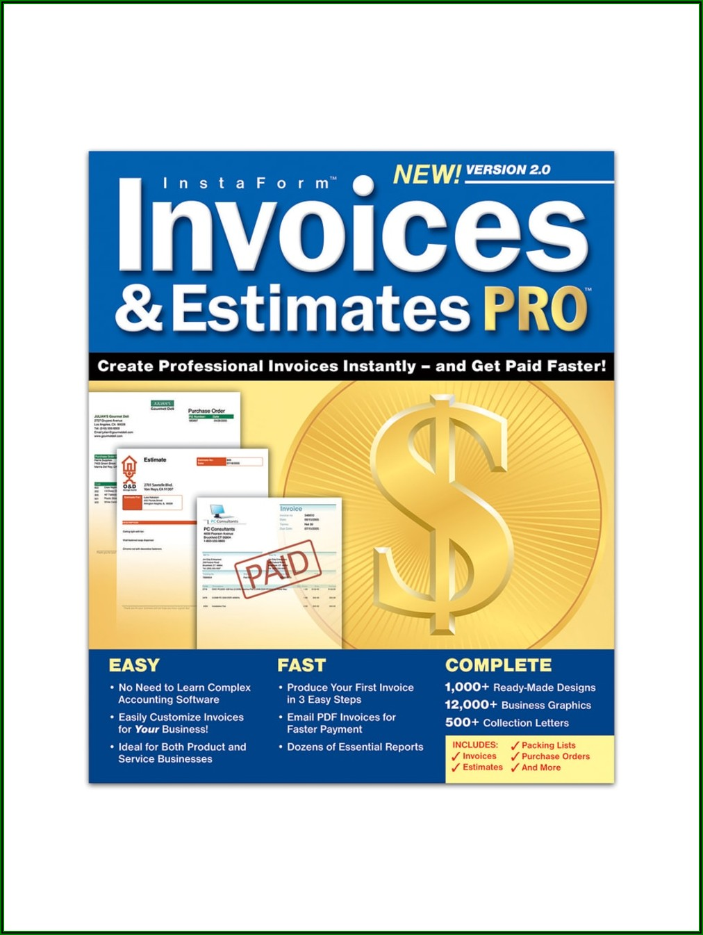 My Invoices And Estimates Deluxe Technical Support