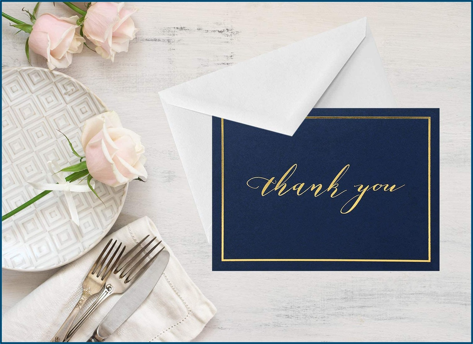 Navy Blue Envelopes 4x6