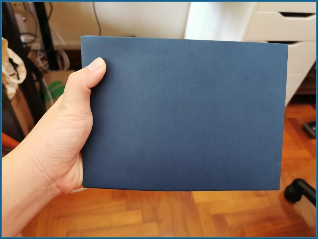 Navy Blue Envelopes A5