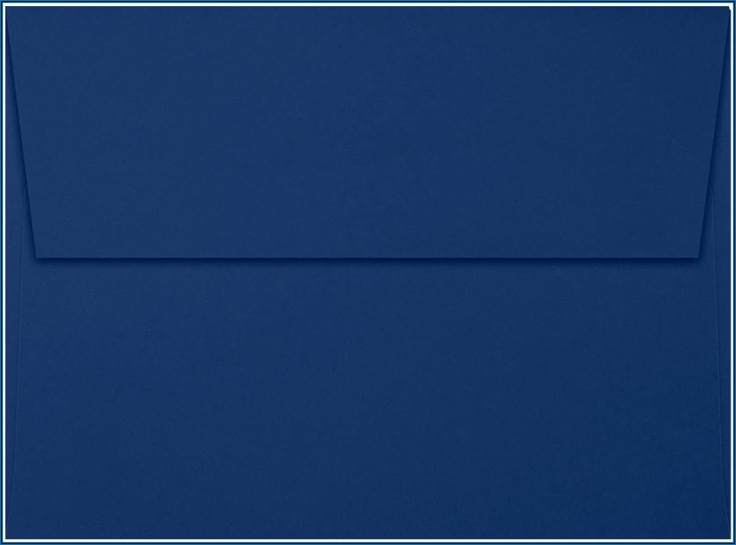 Navy Blue Envelopes A7