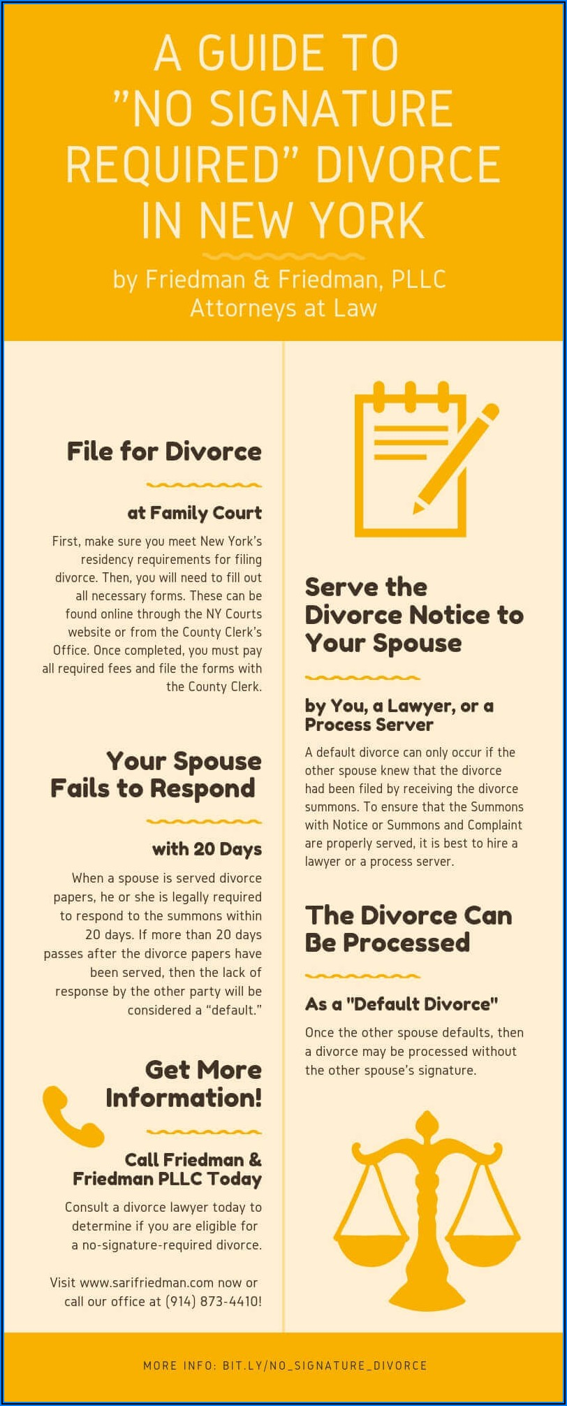 New York State Uncontested Divorce Process
