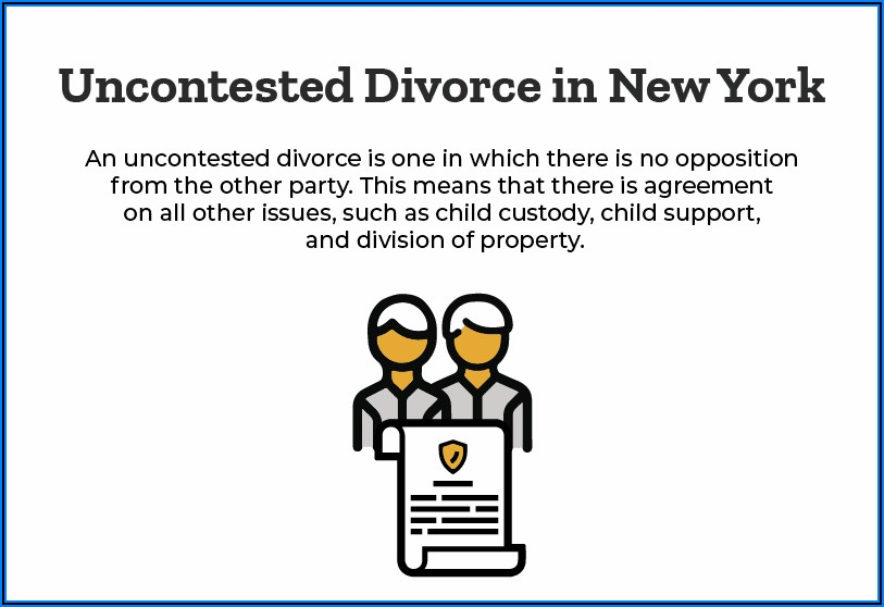 Ny Uncontested Divorce Timeline