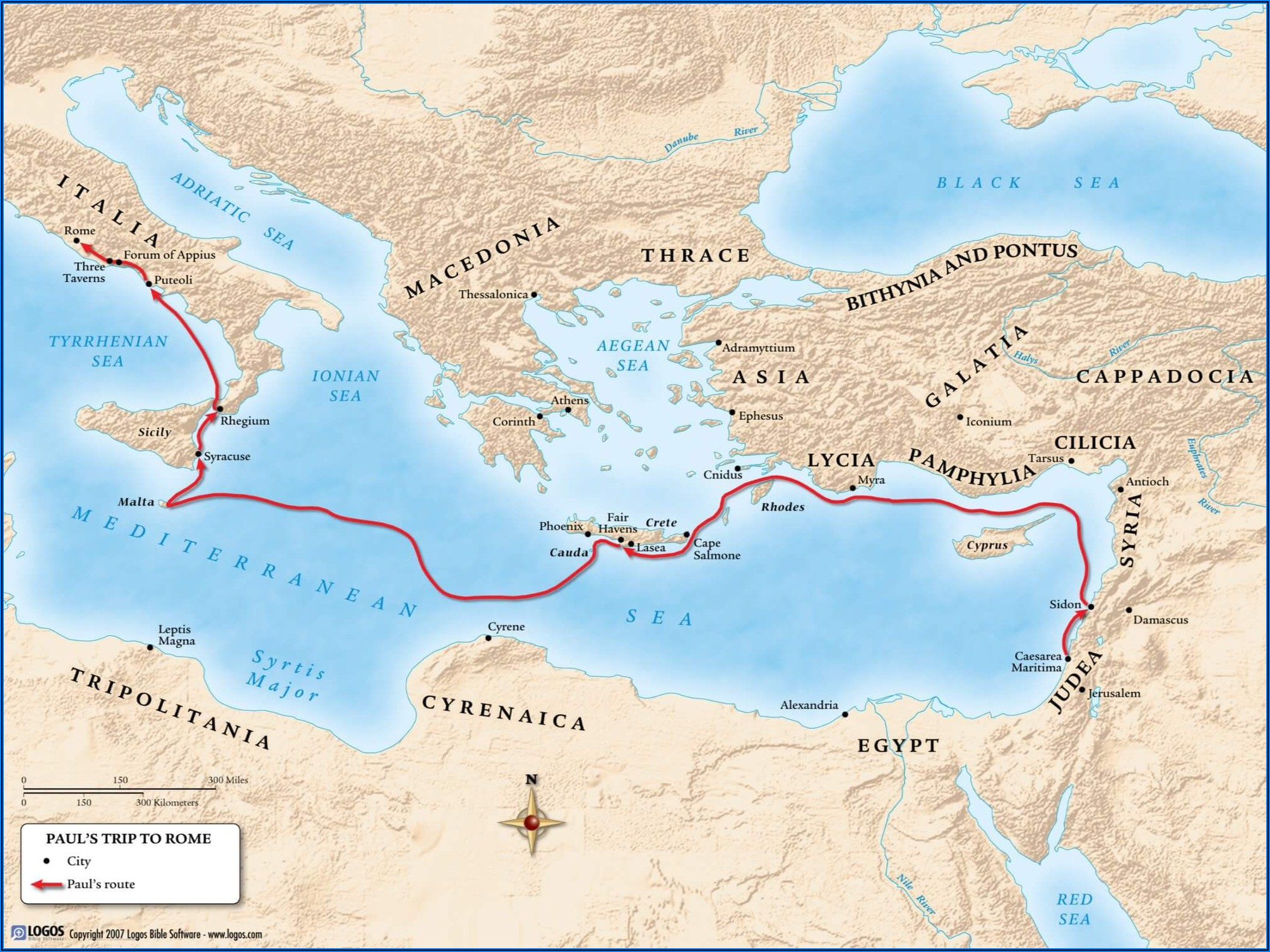 Paul's 3rd Missionary Journey Timeline