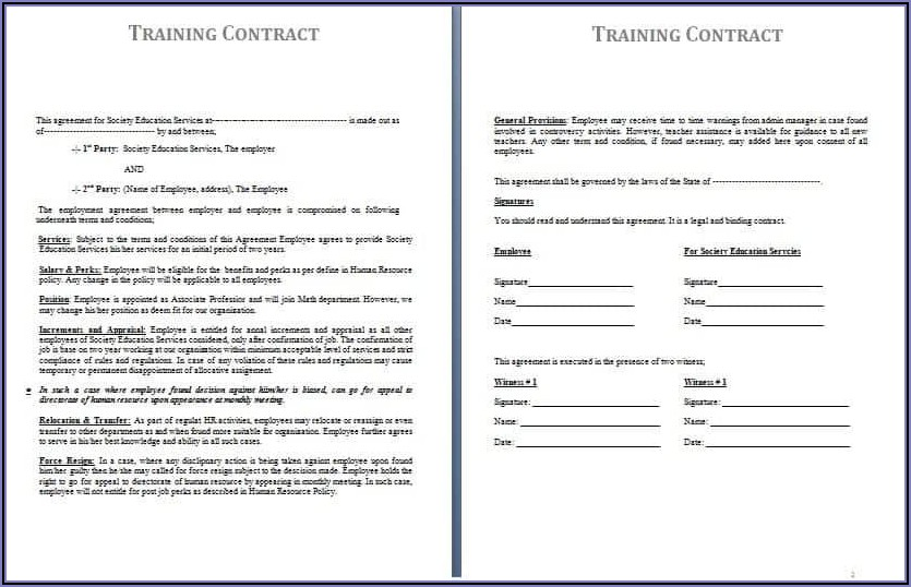 Photography Work For Hire Contract Template