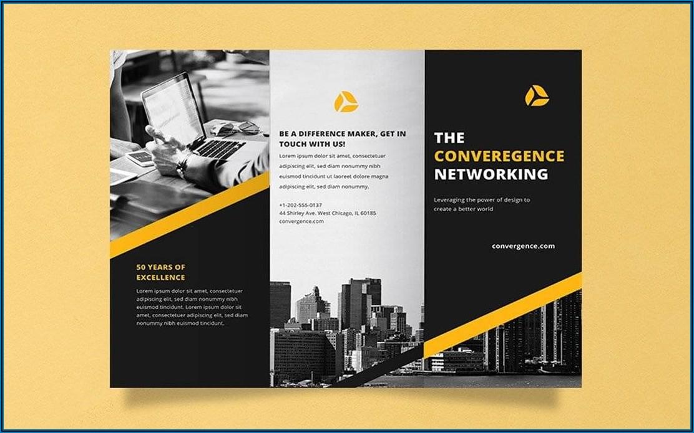 Printable Blank Brochure Templates Free Download Word