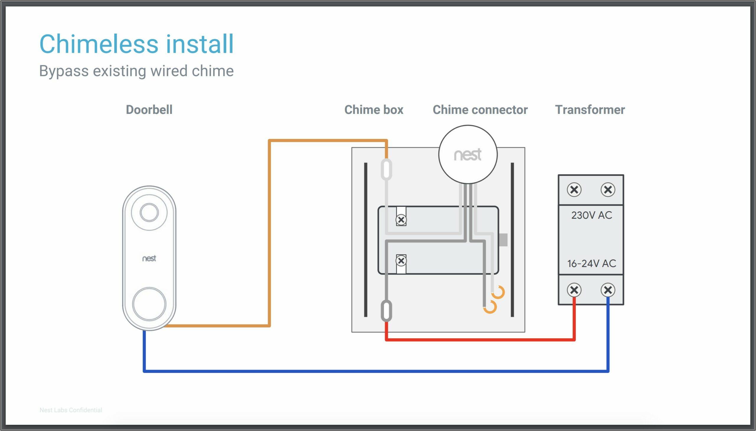 Ring Doorbell 2 Wiring Diagram