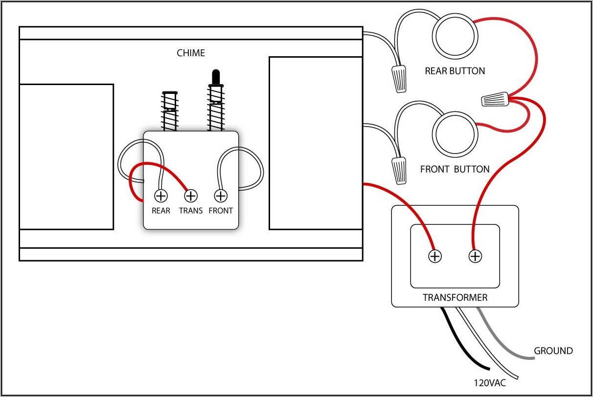 Ring Doorbell Wiring Diagram With Chime