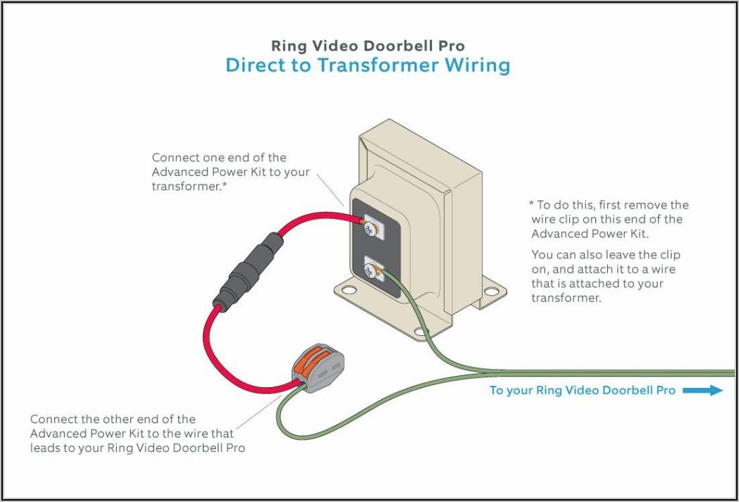 Ring Video Doorbell Pro Wiring Diagram