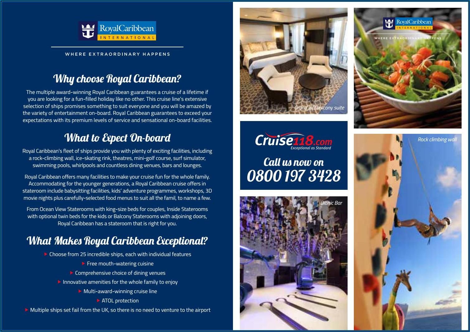 Royal Caribbean Brochure Request Uk