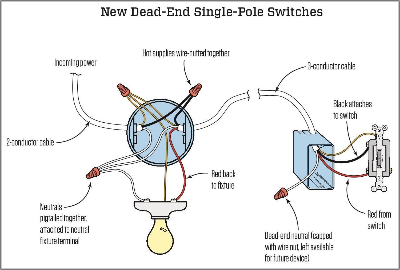 Single Light Switch Wiring Diagram Nz