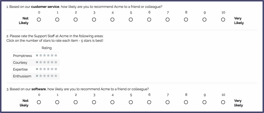 Social Work Satisfaction Survey Questions