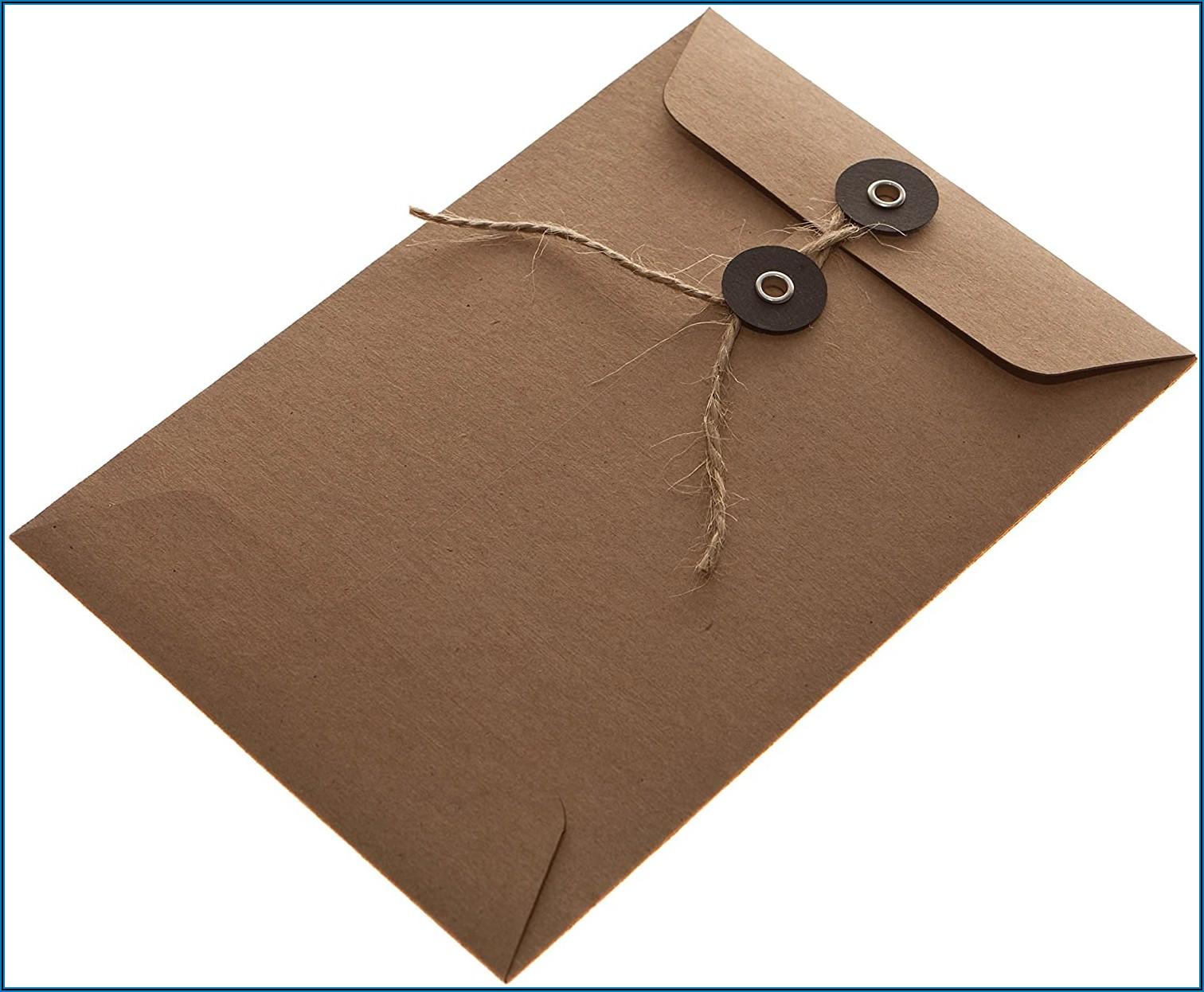 String Tie Envelopes Uk