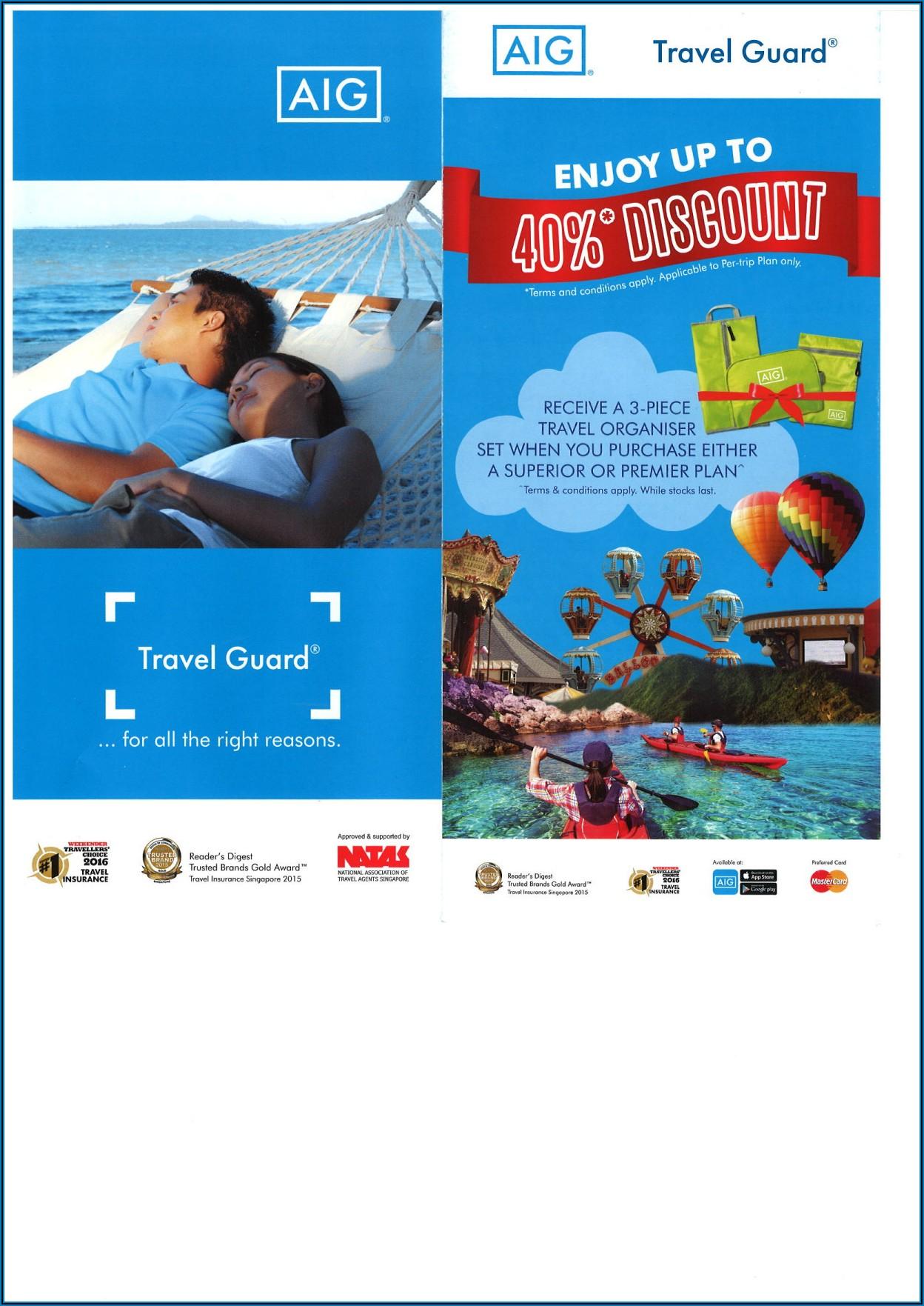 Tata Aig Domestic Travel Insurance Brochure