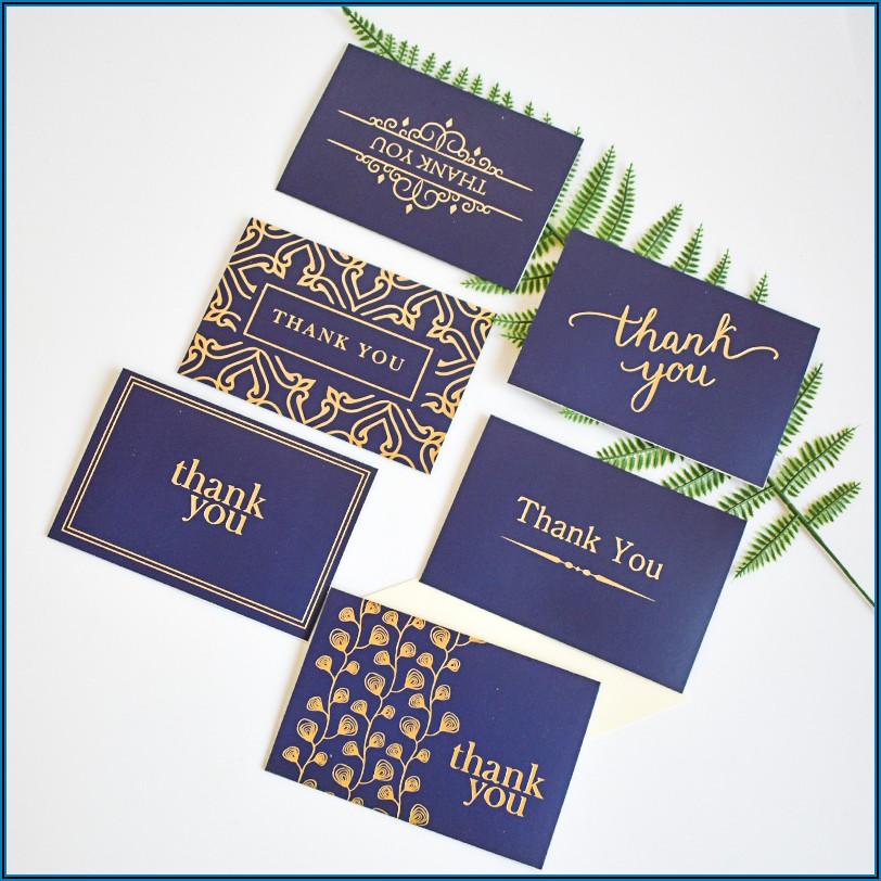 Thank You Gift Card Envelopes