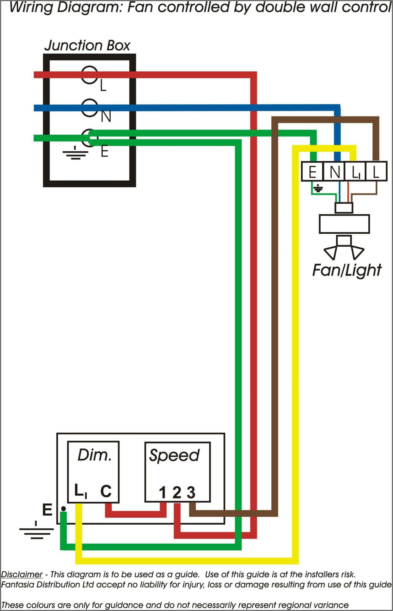 Three Speed Ceiling Fan Switch Wiring Diagram
