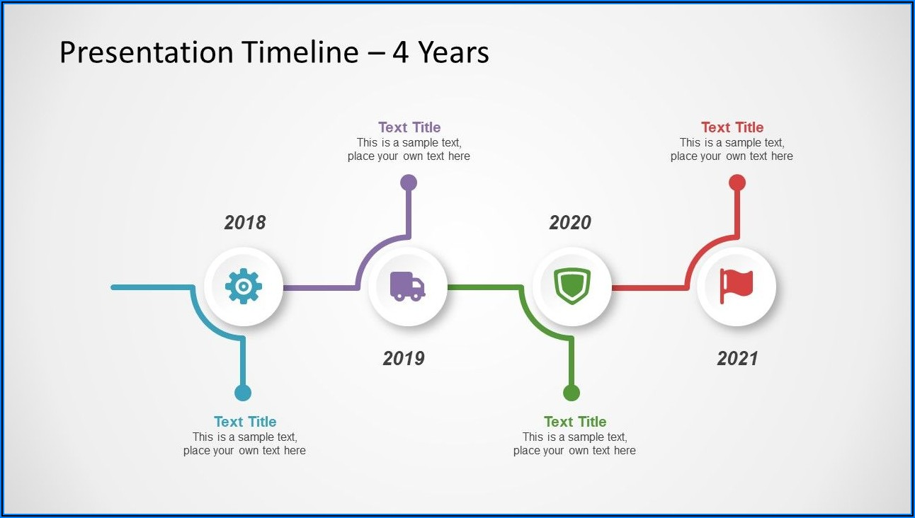 Timeline Infographic Template Free