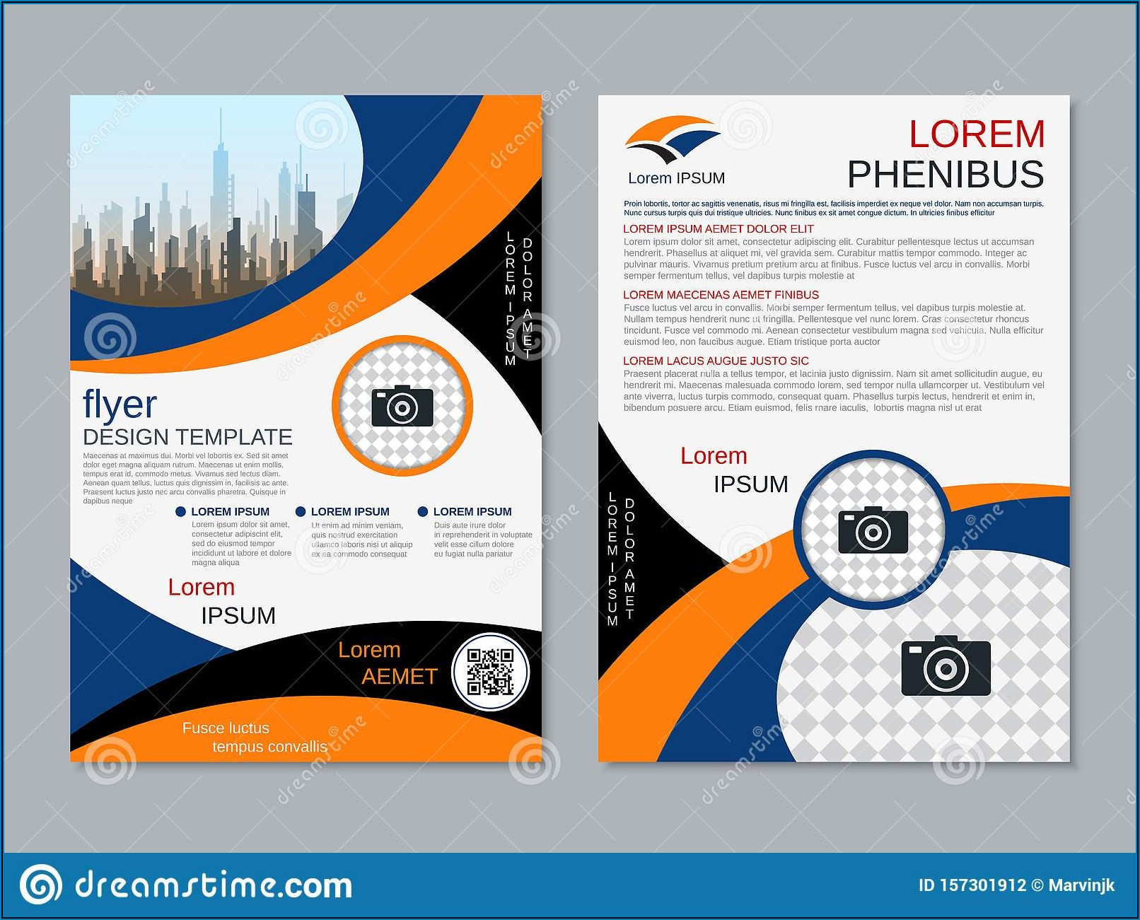 Two Sided Brochure Templates Free