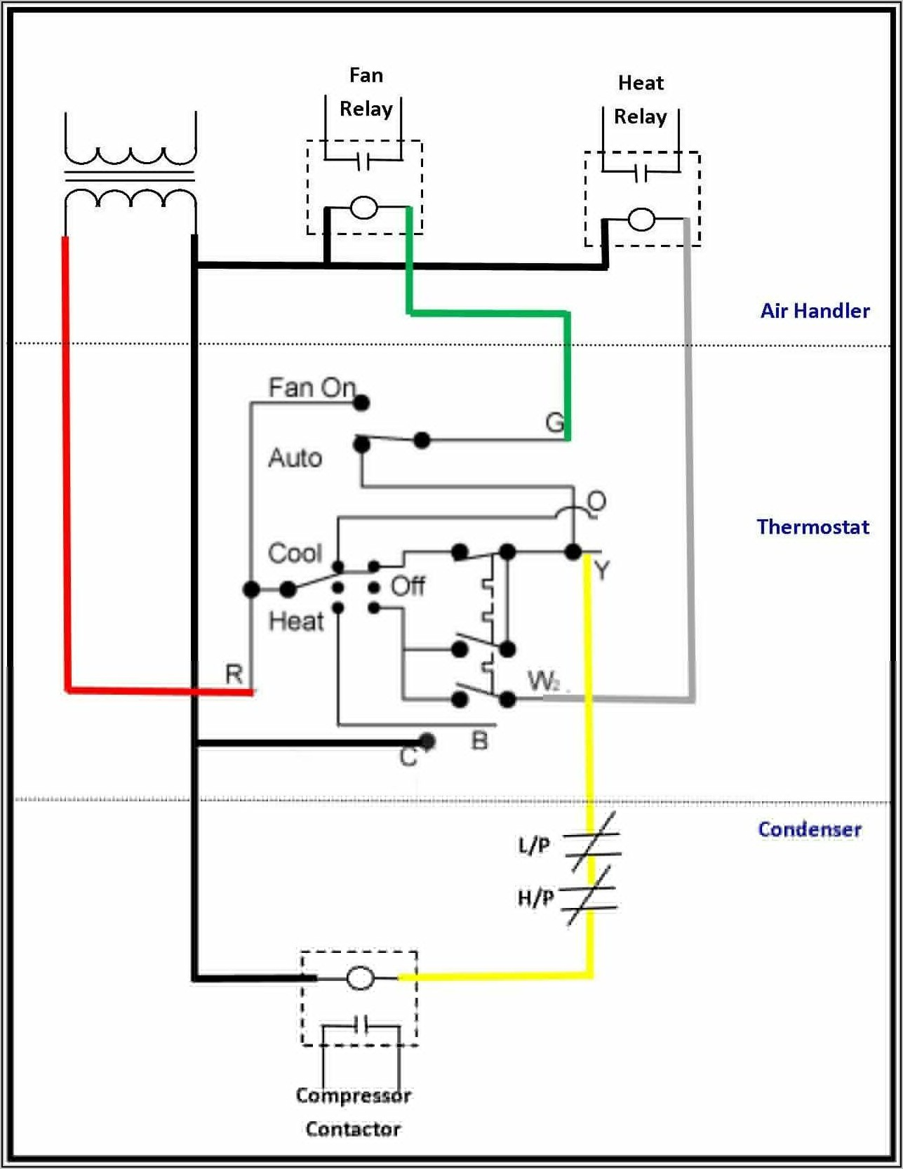 Typical Ac Thermostat Wiring Diagram