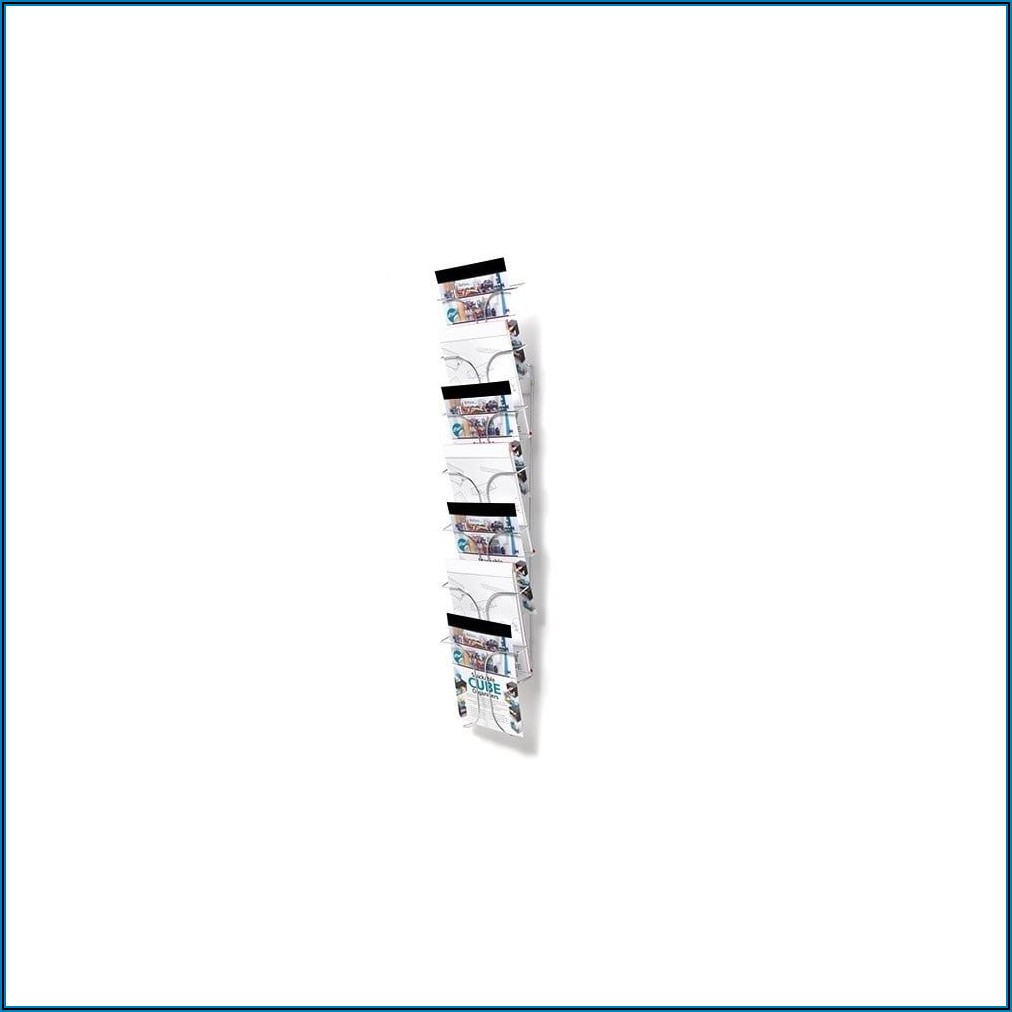 Wire Leaflet Racks Wall Mounted