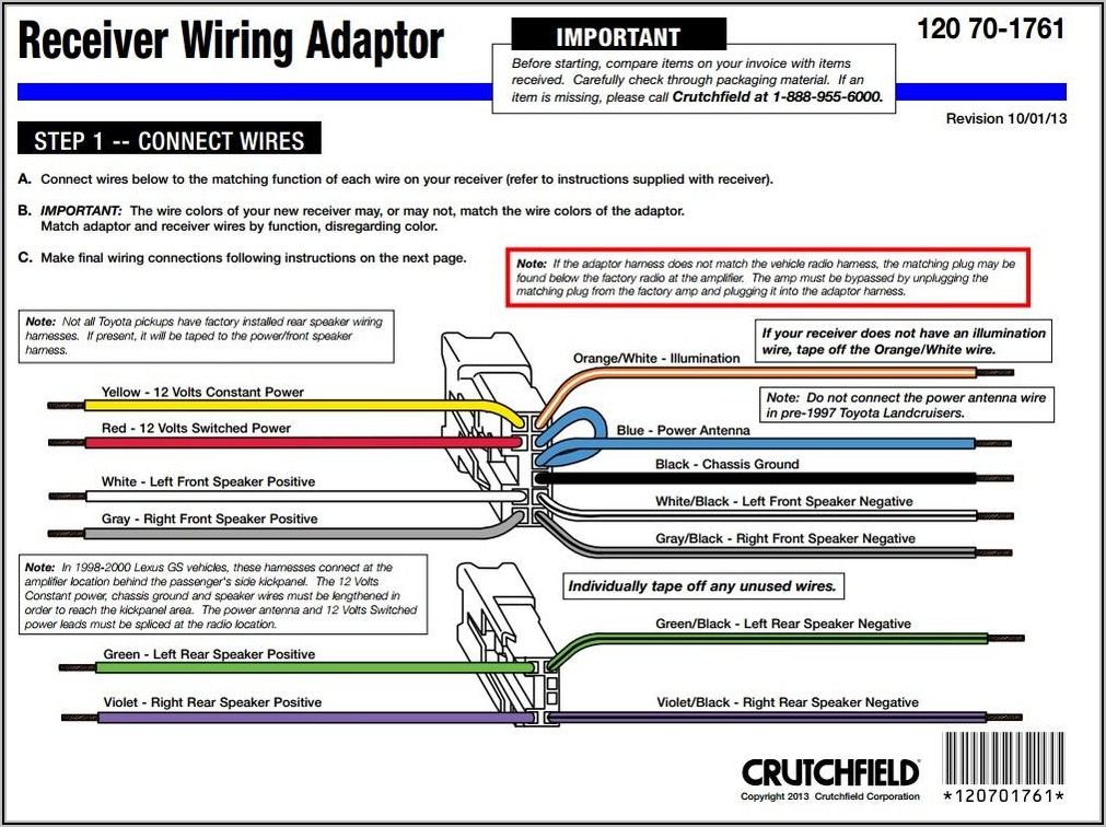 Wiring Harness Pioneer Car Stereo Wiring Diagram