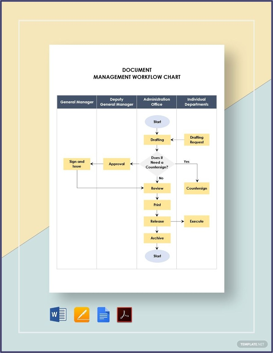 Workflow Document Template Word