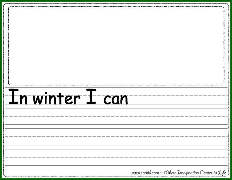 Worksheets On Writing Sentences For Kindergarten