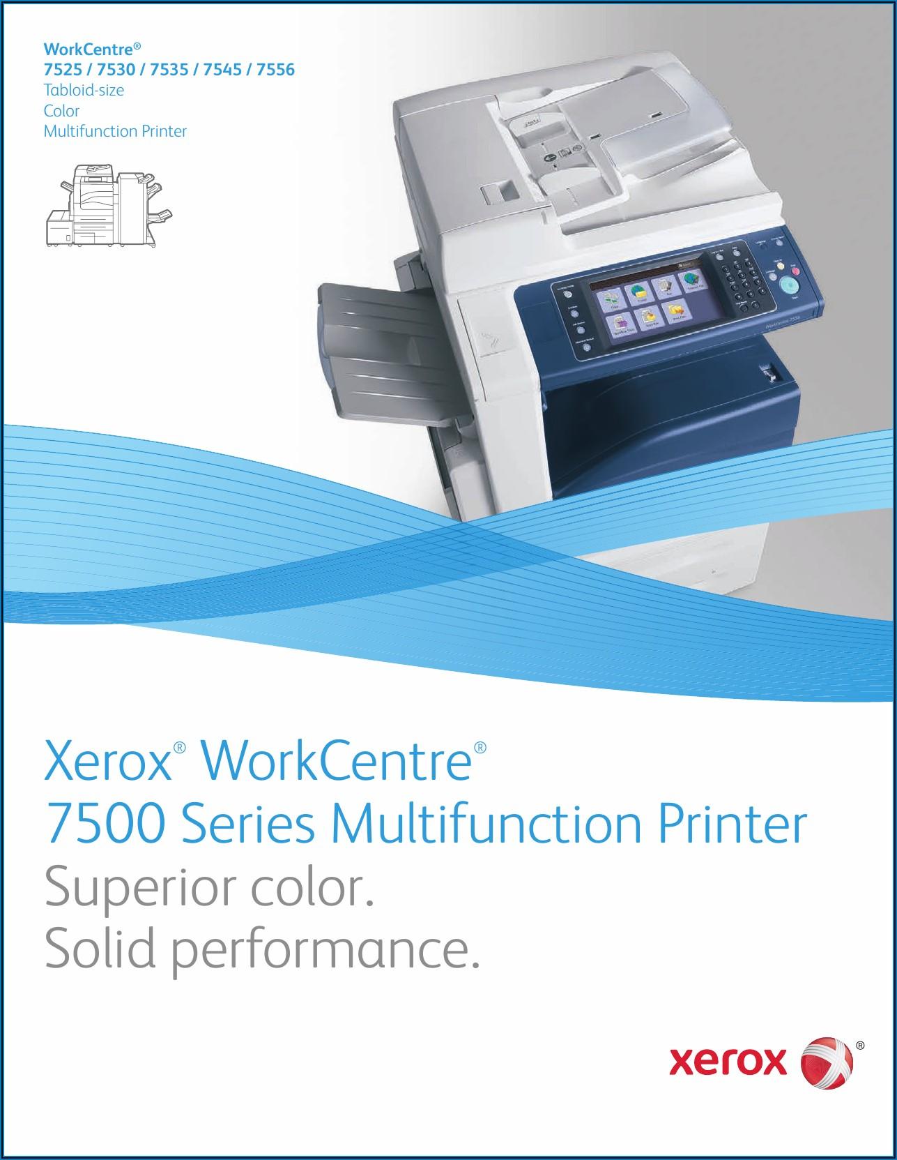 Xerox Wc 7535 Brochure
