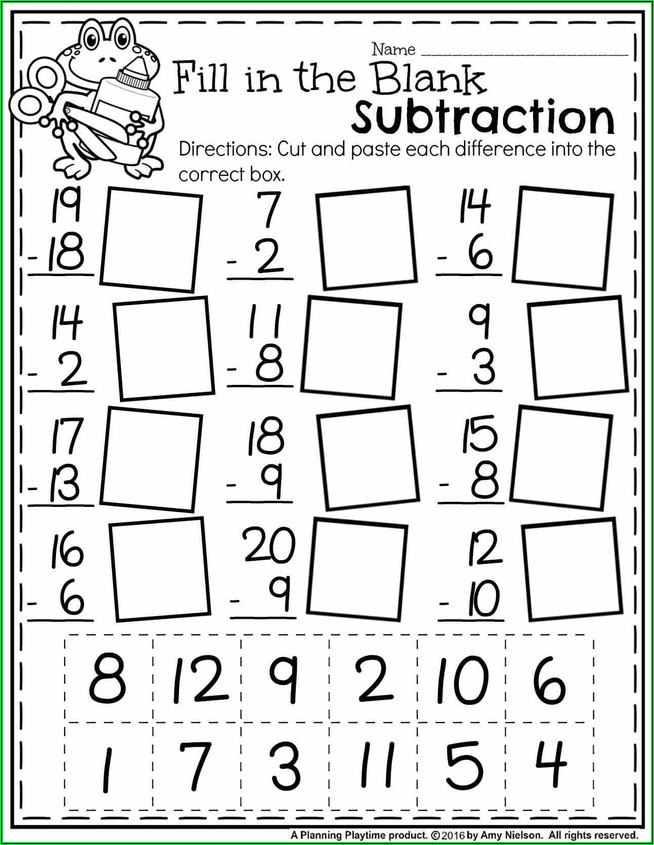 1st Grade Math Worksheets Addition With Pictures