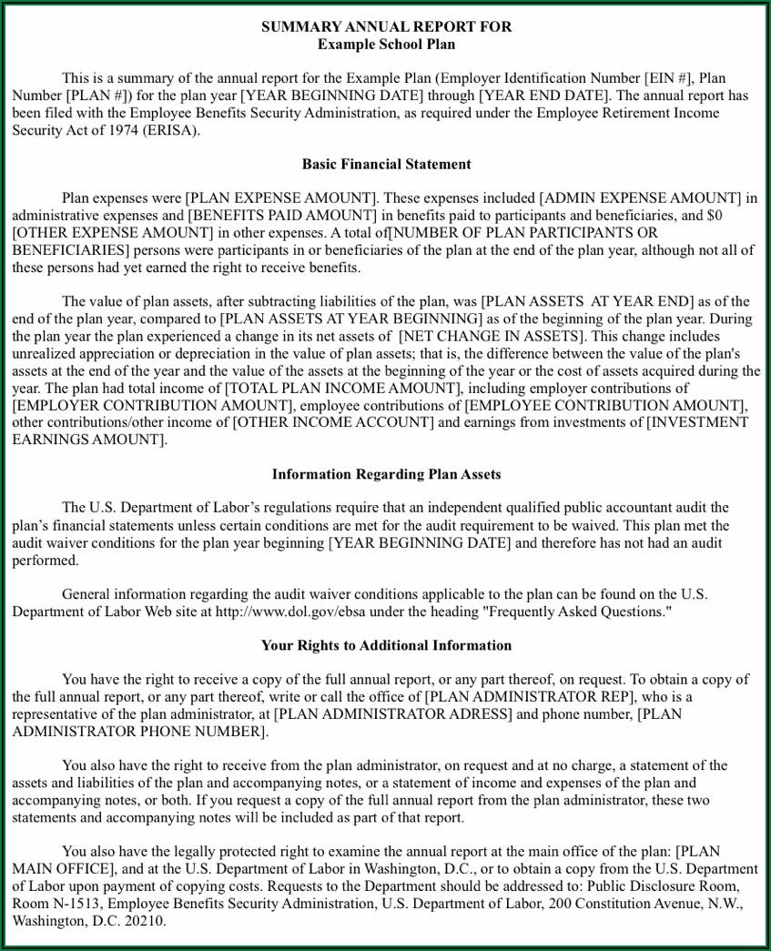 401k Plan Termination Notice Timeline